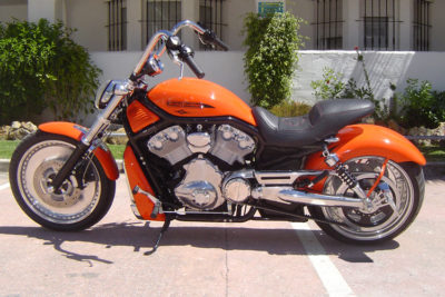 Marbella Performance Big Orange Custom Bike