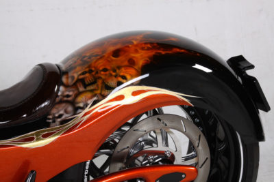 Marbella Performance Fire Born Custom Bike