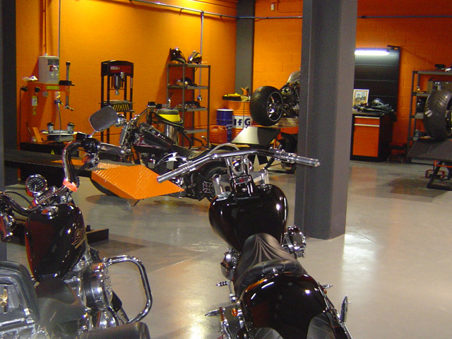 Marbella Performance Harley Workshop Malaga